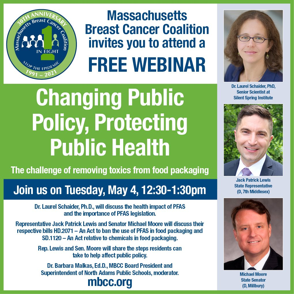 Changing Public Policy, Protecting Public Health – May 4 Panel Discussion