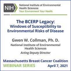 The BCERP Legacy: Windows of Susceptibility to Environmental Risks of Breast Cancer – Webinar Recording
