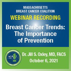 """Webinar Recording, """"Breast Cancer trends"""" by Dr. Jill Oxley"""