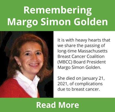 Remembering Margo Simon Golden, former MBCC Board President