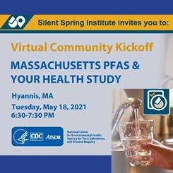 Massachusetts PFAS and Your Health Study Community Kickoff on Cape Cod